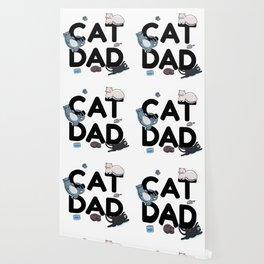 Cat Dad - Cat Cats Man Papa Pussycat Meow Wallpaper