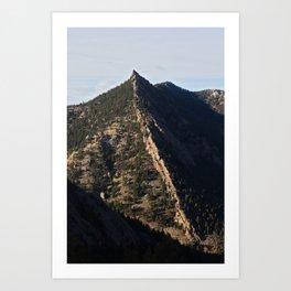 Sacred Cliffs Art Print