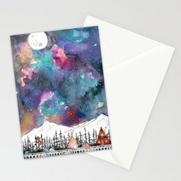 Mountain Camp Vibes Stationery Cards