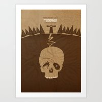 the goonies Art Prints featuring The Goonies by Tommaso Valsecchi