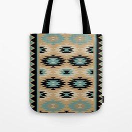 Navajo Pattern Four Tote Bag