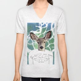 Top Surgery Deer Unisex V-Neck