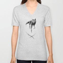 Maned Wolf Unisex V-Neck
