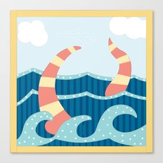Sea Stitch Canvas Print