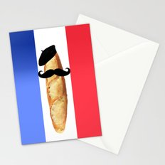 Monsieur Baguette Stationery Cards