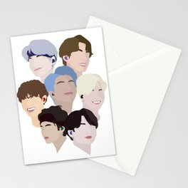 Minimalist BTS Design Stationery Cards