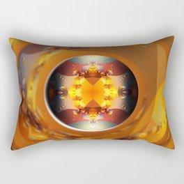 Fractal - Down the Barrel of a Lens Rectangular Pillow