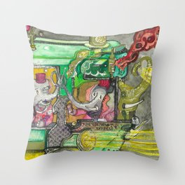 The Perfect PB & J Throw Pillow