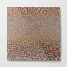 AFE Mosaic Tiles 4 Metal Print
