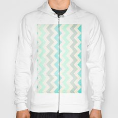 Crazy for Chevron - Vintage Slate Hoody
