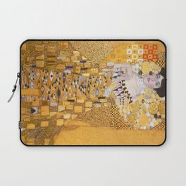 Gustav Klimt - The Woman in Gold Laptop Sleeve