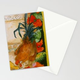Tuscan Roosters Stationery Cards