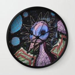 Mother Ducker Wall Clock