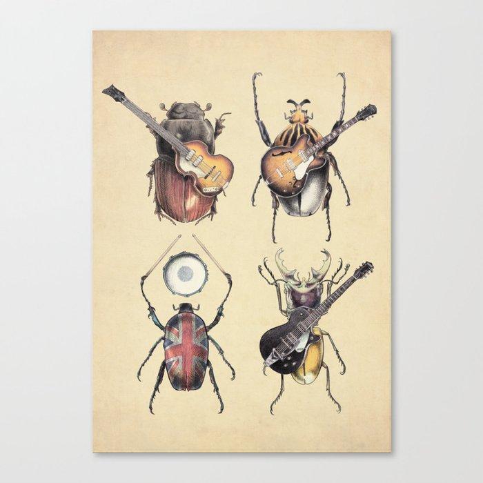 Meet the Beetles Canvas Print