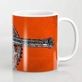 Inked Crankset Coffee Mug