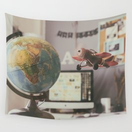 Where we go? Wall Tapestry