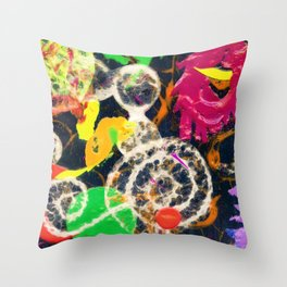 Swirled Throw Pillow