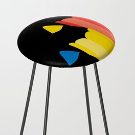 Primary colors Counter Stool