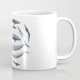 Whales all around Coffee Mug