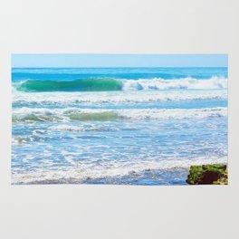 Layered Surf Rug