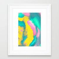 florida Framed Art Prints featuring Florida by elena + stephann