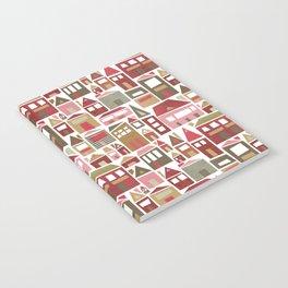 Peppermint Village Notebook