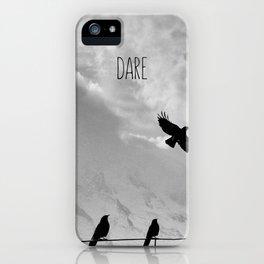 dare iPhone Case