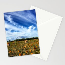 Pumpkin season is here Stationery Cards