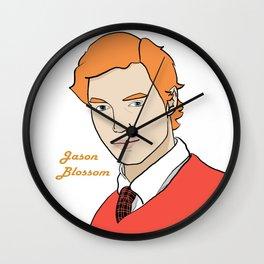 Jason Blossom Wall Clock