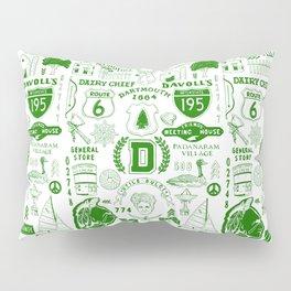 Dartmouth Massachusetts Print Pillow Sham