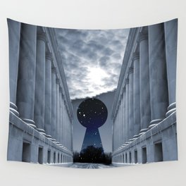 Keyhole to Infinity Wall Tapestry
