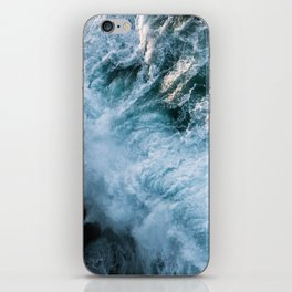 Wave in Ireland during sunset - Oceanscape iPhone Skin