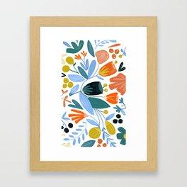 Funny Little Flower Framed Art Print