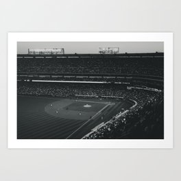 Take Me Out To The Ballgame Art Print