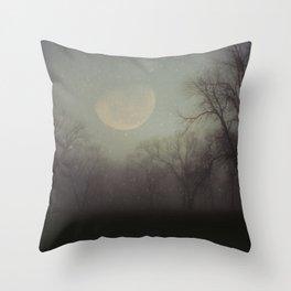 Moonlit Dreams Throw Pillow