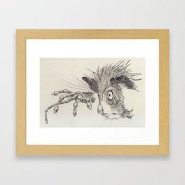 Aye-aye Framed Art Print