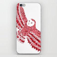 Red Barn Owl Beaut iPhone & iPod Skin