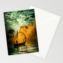 The lampboat Stationery Cards