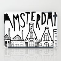 amsterdam iPad Cases featuring Amsterdam by Heather Dutton