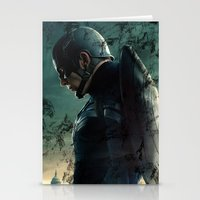 steve rogers Stationery Cards featuring Steve Rogers 006 by TheTreasure