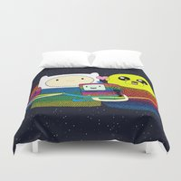 family Duvet Covers featuring Family by Luna Portnoi