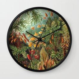 Vintage Plants Decorative Nature Wall Clock