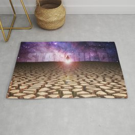 Child of Space Rug
