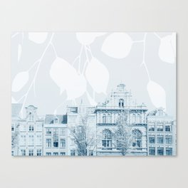springtime in amsterdam Canvas Print