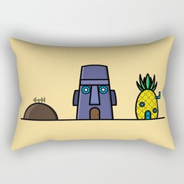 Spongebob's House Rectangular Pillow