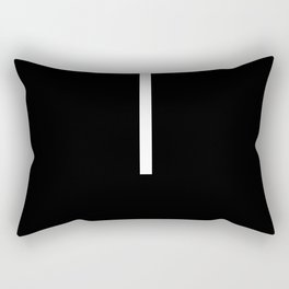 Minimal White 1 Rectangular Pillow