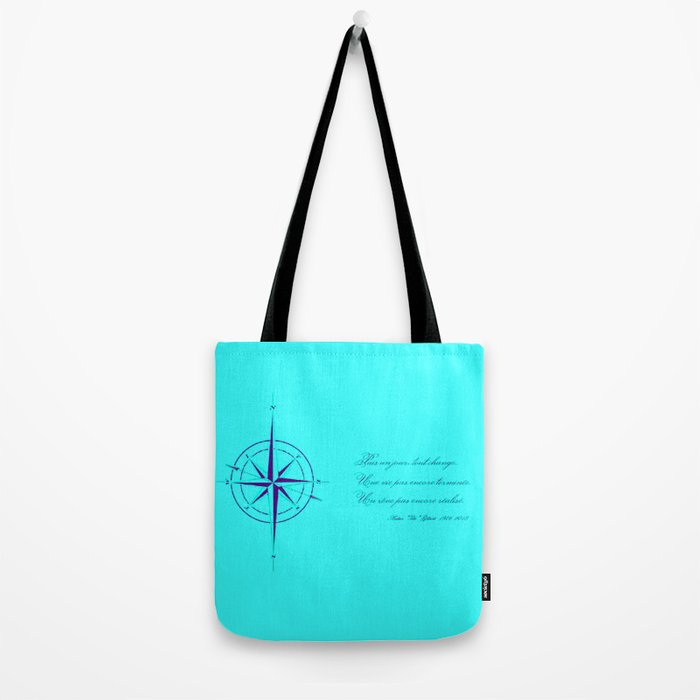 Rememberance, teal Tote Bag