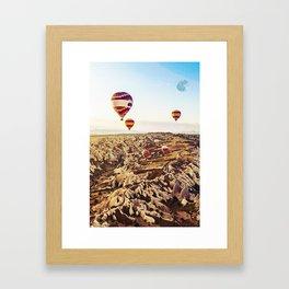 Goreme, Capadocia, Turkey Framed Art Print