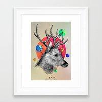 animals Framed Art Prints featuring animals by mark ashkenazi