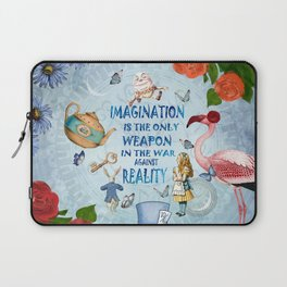 Alice In Wonderland - Imagination Laptop Sleeve